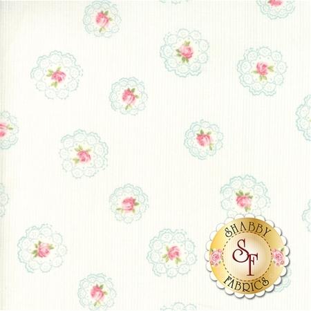 Caroline 18652-11 Linen White by Brenda Riddle for Moda Fabrics