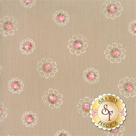 Caroline 18652-16 by Oatmeal Brenda Riddle for Moda Fabrics