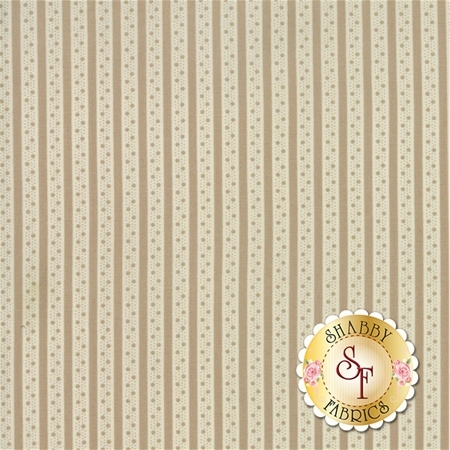 Caroline 18656-15 Oatmeal by Brenda Riddle for Moda Fabrics