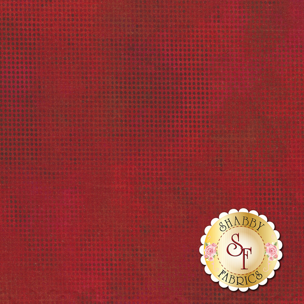 Dit Dot Evolution 1DDE-11 Cherry by In The Beginning Fabrics available at Shabby Fabrics