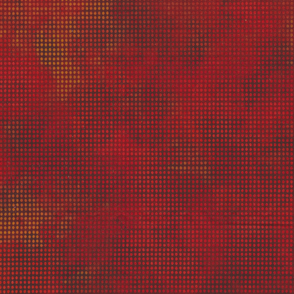 Dit Dot Evolution 1DDE-12 Lava by In The Beginning Fabrics available at Shabby Fabrics