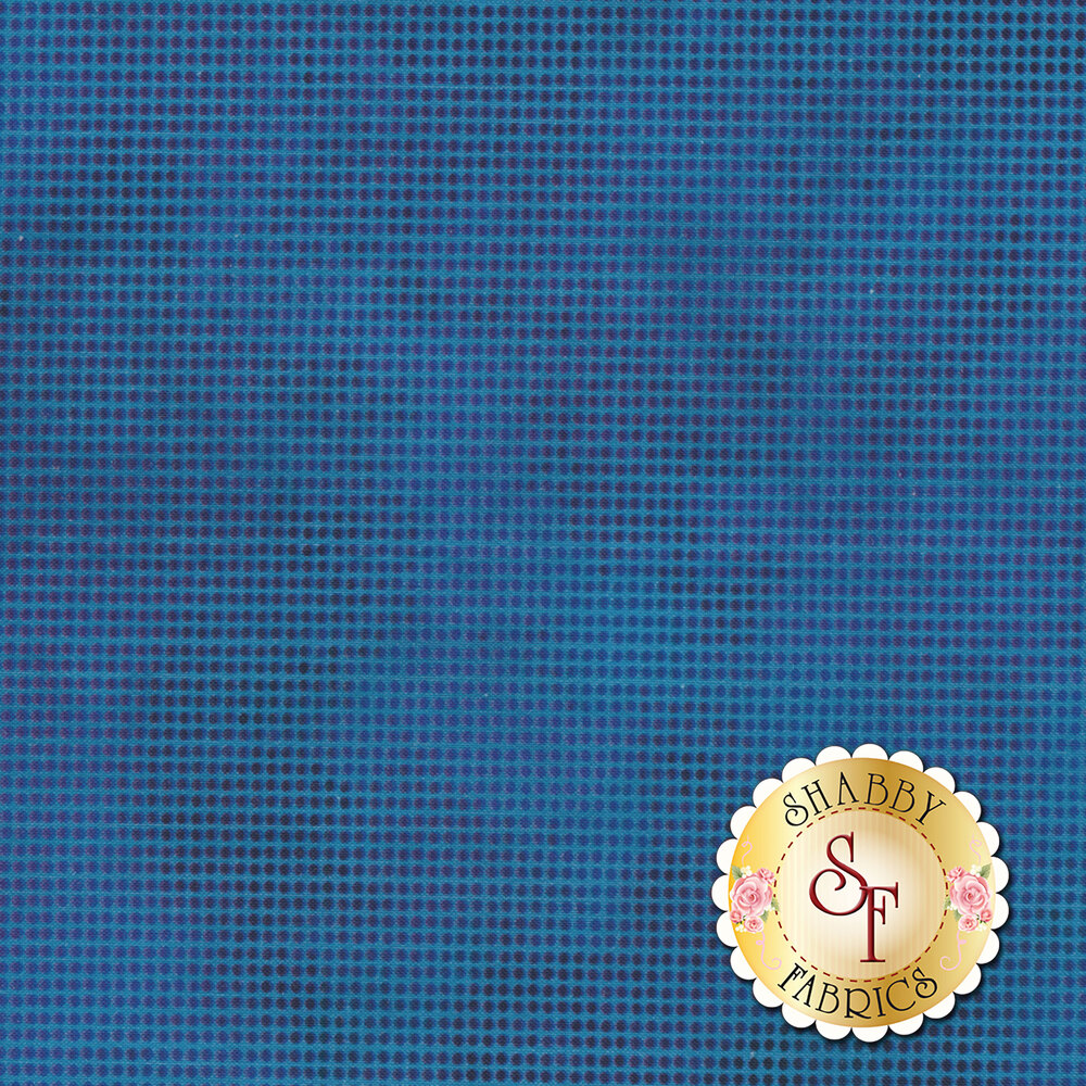 Dit Dot Evolution 1DDE-16 Ocean by In The Beginning Fabrics available at Shabby Fabrics
