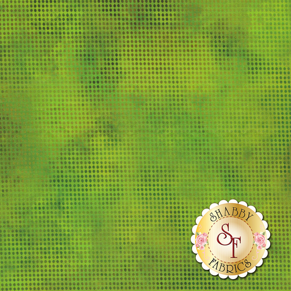 Dit Dot Evolution 1DDE-22 Green by In The Beginning Fabrics available at Shabby Fabrics