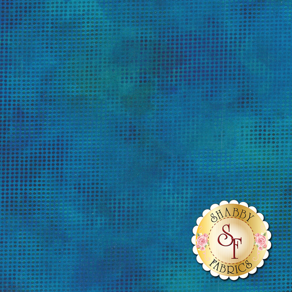 Dit Dot Evolution 1DDE-33 Blue by In The Beginning Fabrics available at Shabby Fabrics
