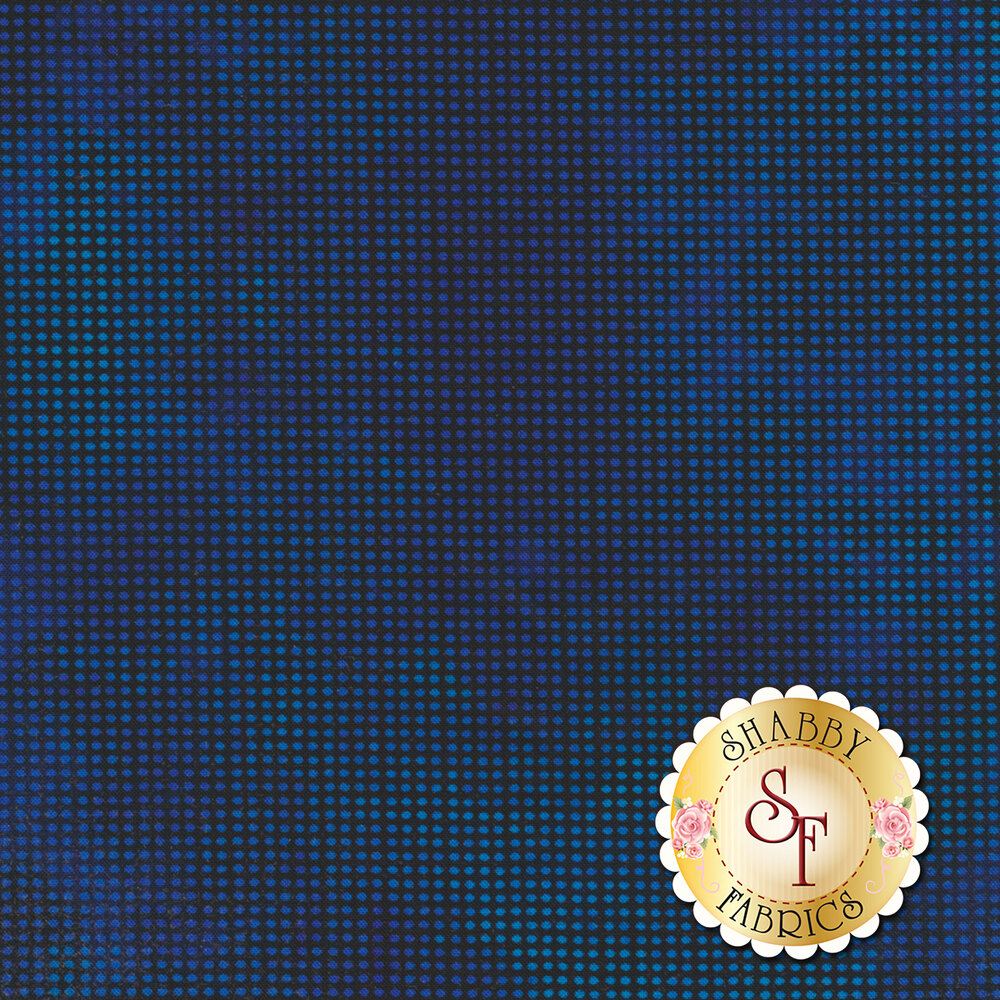 Dit Dot Evolution 1DDE-35 Indigo by In The Beginning Fabrics available at Shabby Fabrics