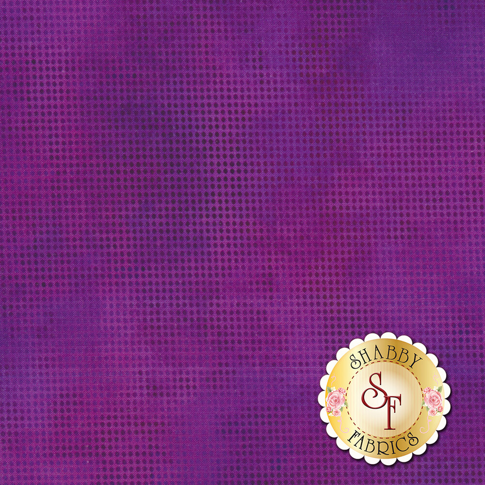 Dit Dot Evolution 1DDE-39 Plum by In The Beginning Fabrics available at Shabby Fabrics