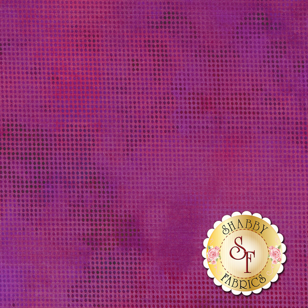 Dit Dot Evolution 1DDE-40 Dark Magenta by In The Beginning Fabrics available at Shabby Fabrics