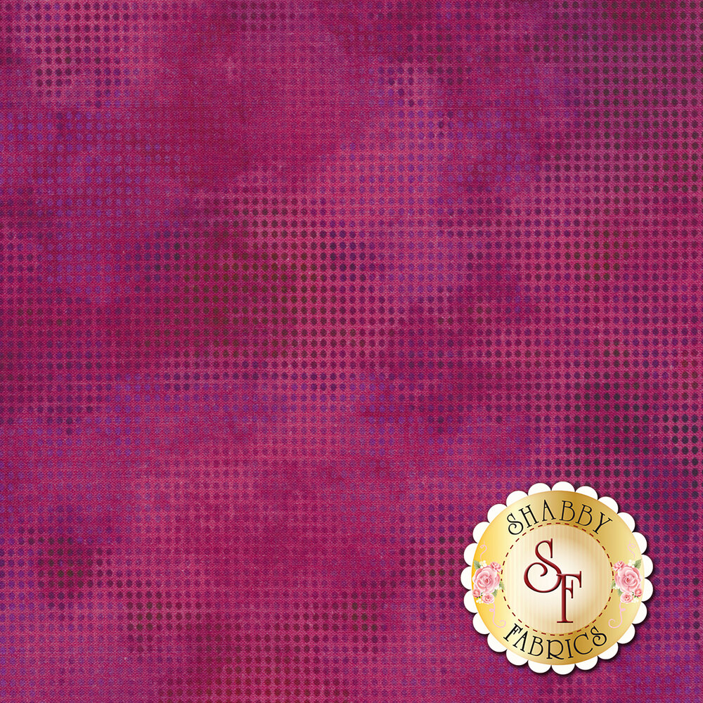 Dit Dot Evolution 1DDE-7 Fuchsia by In The Beginning Fabrics available at Shabby Fabrics