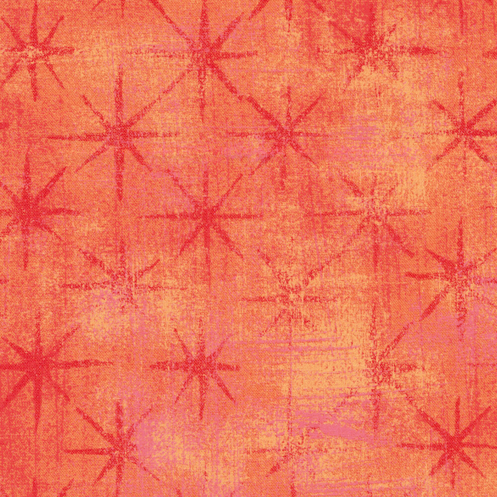 Grunge Seeing Stars 30148-23 Papaya Punch by BasicGrey for Moda Fabrics