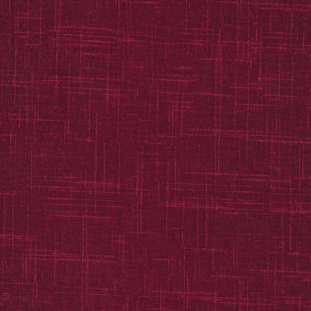 Tonal maroon textured fabric | Shabby Fabrics
