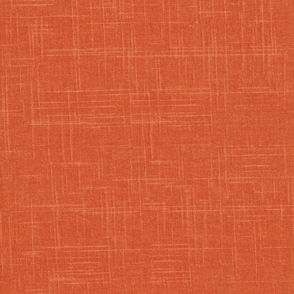 Tonal apricot colored textured fabric | Shabby Fabrics