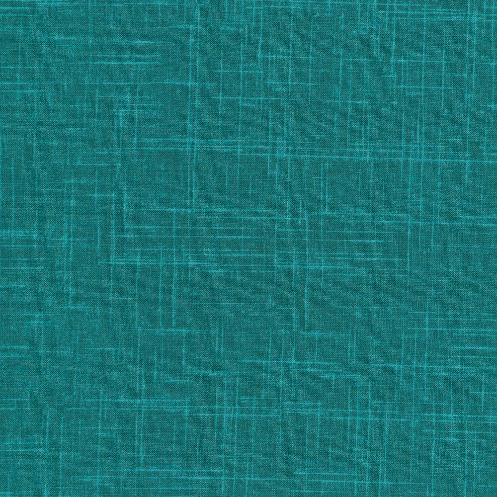 Tonal teal textured fabric | Shabby Fabrics