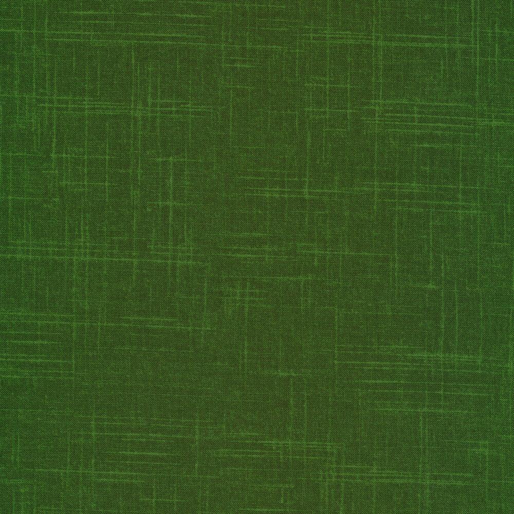 Tonal green textured fabric | Shabby Fabrics
