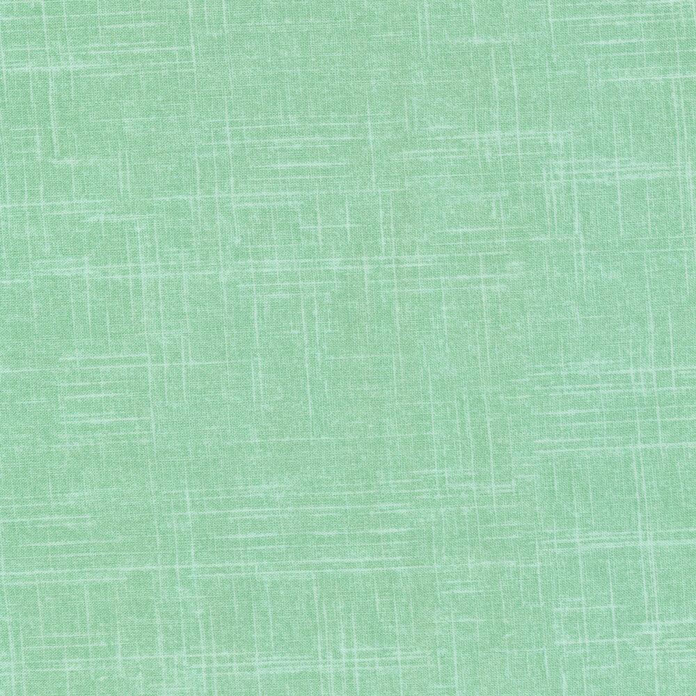Tonal mint colored textured fabric | Shabby Fabrics