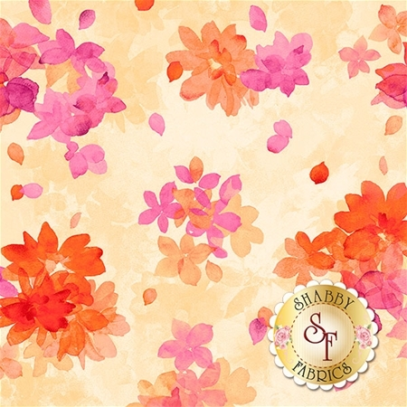 Soiree 26272-S Pale Yellow by Studio 8 for Quilting Treasures