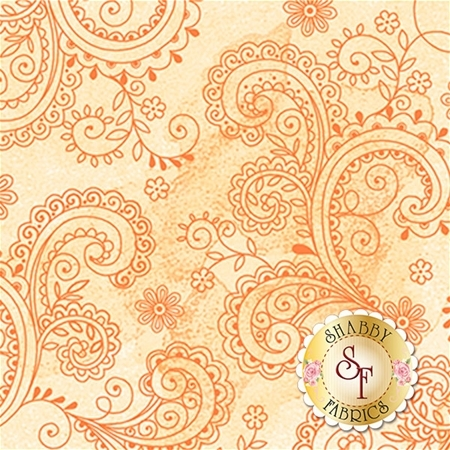 Soiree 26273-S Pale Yellow by Studio 8 for Quilting Treasures