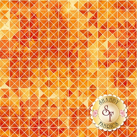 Soiree 26274-O Orange by Studio 8 for Quilting Treasures