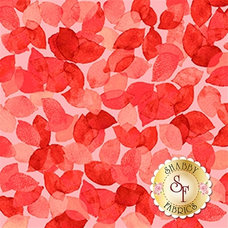Soiree 26275-R Tomato by Studio 8 for Quilting Treasures