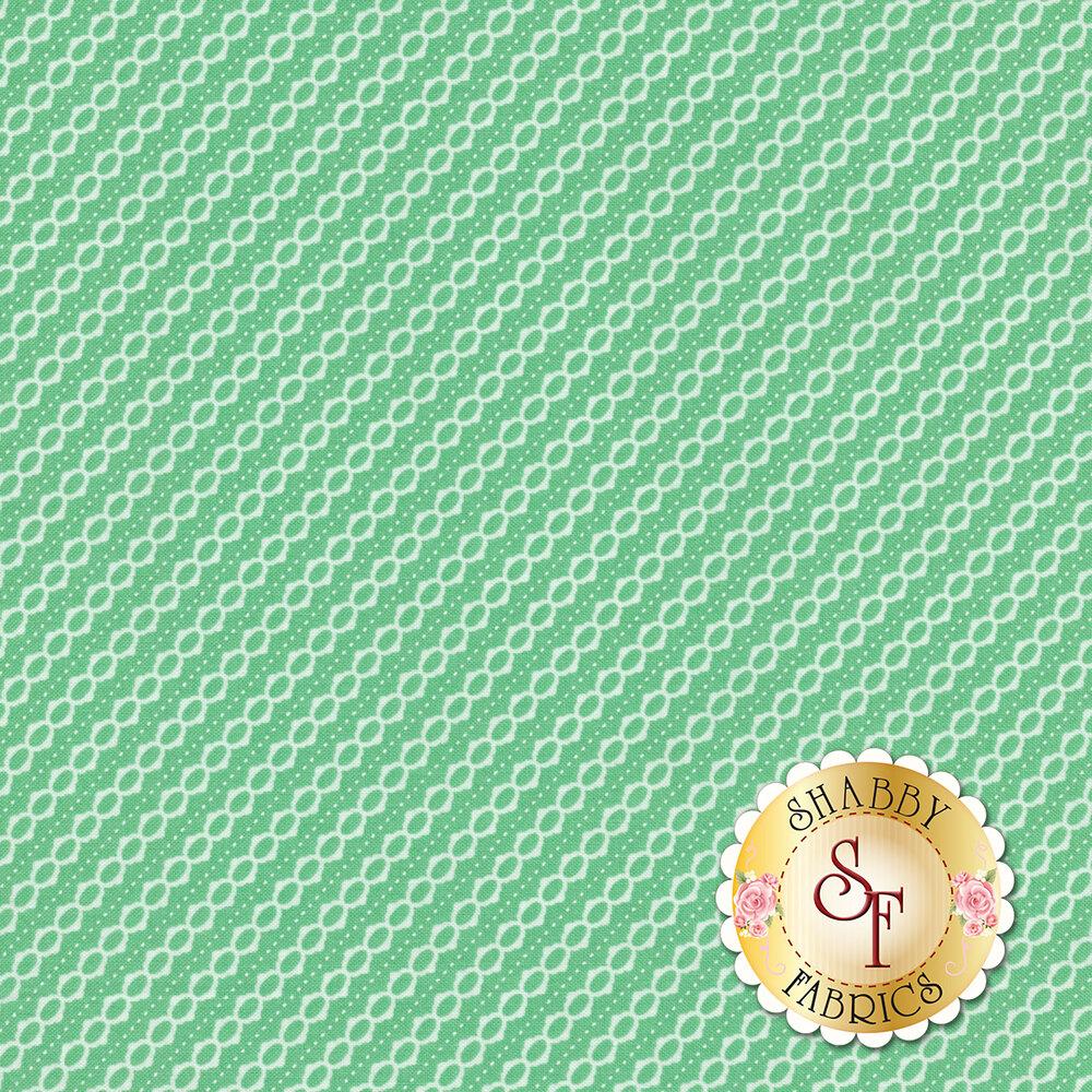 Strawberry Jam 29066-28 Summer Stripe Aqua by Moda Fabrics available at Shabby Fabrics