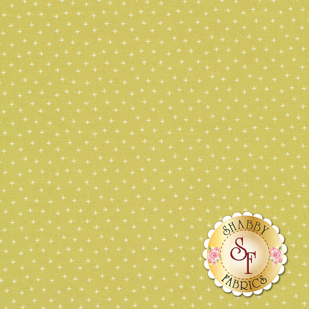 Strawberry Jam 29067-37 Plus Light Green by Moda Fabrics available at Shabby Fabrics