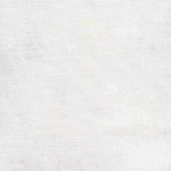 Mottled white grunge textured fabric | Shabby Fabrics