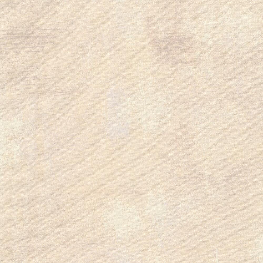 Tonal cream grunge fabric