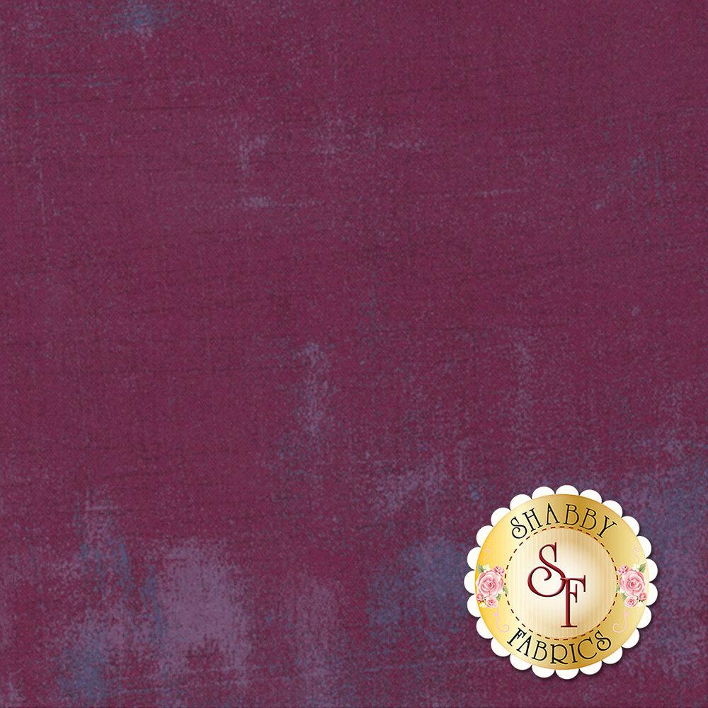 Deep purple grunge textured fabric   Shabby Fabrics