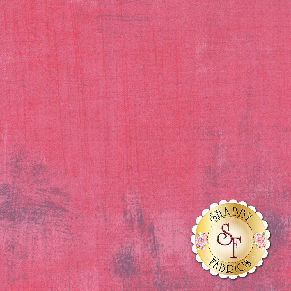 Light pink and purple grunge textured fabric | Shabby Fabrics
