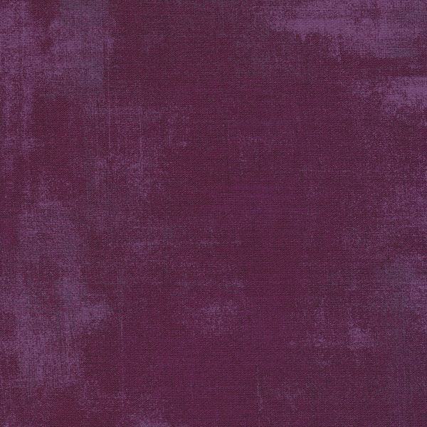 Dark purple grunge textured fabric | Shabby Fabrics