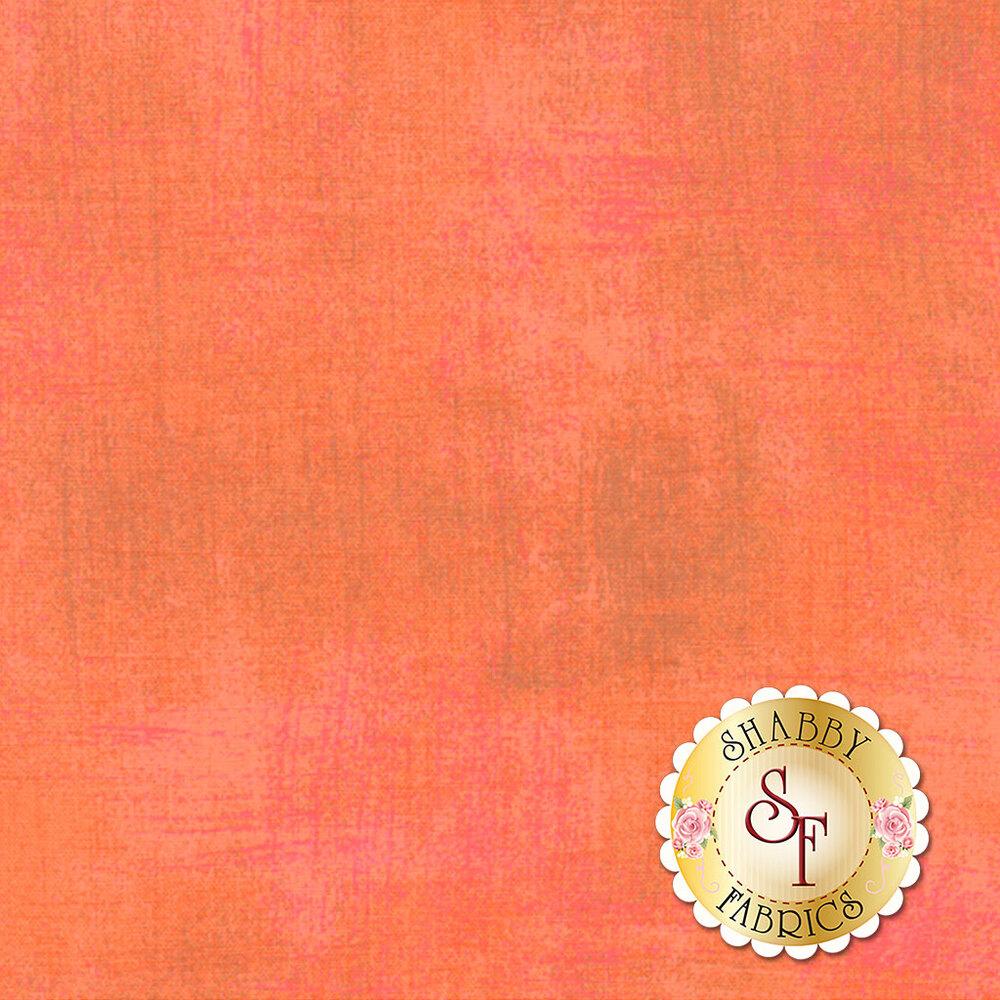 Light peach colored grunge textured fabric | Shabby Fabrics