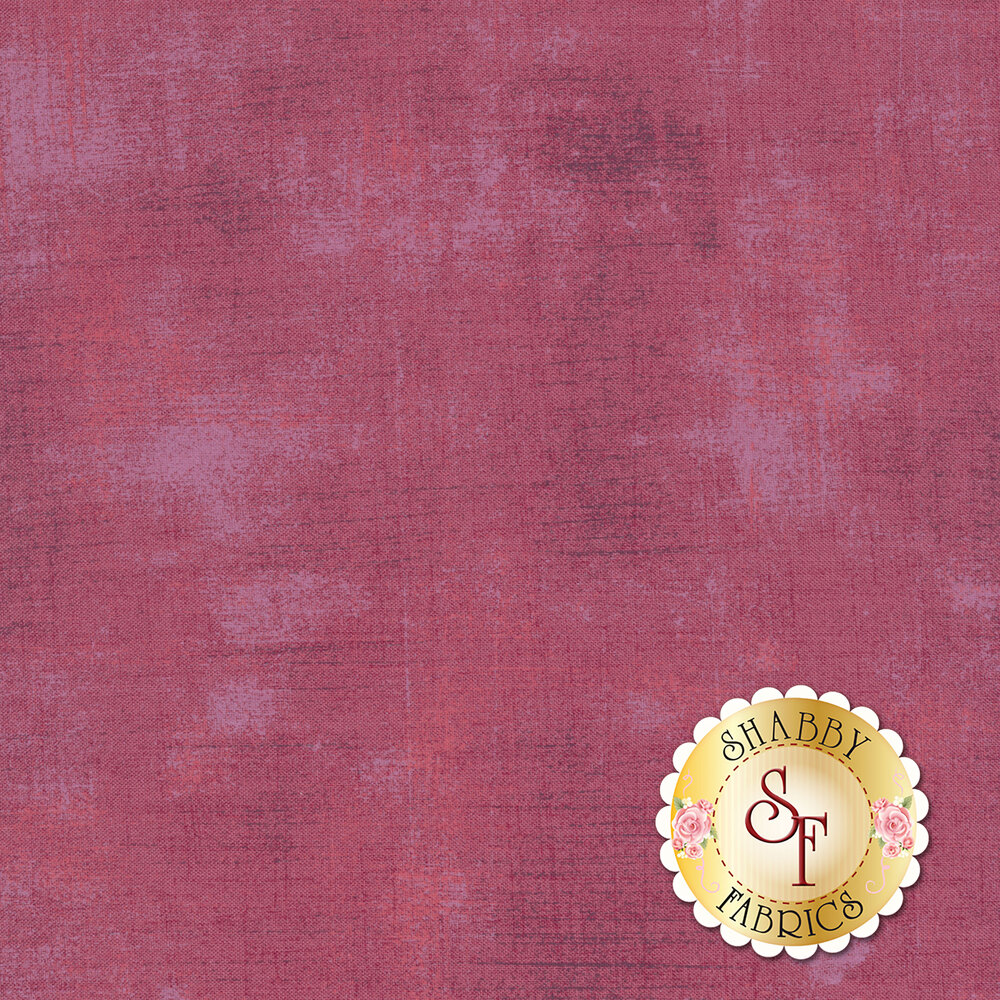 Light purple grunge textured fabric | Shabby Fabrics