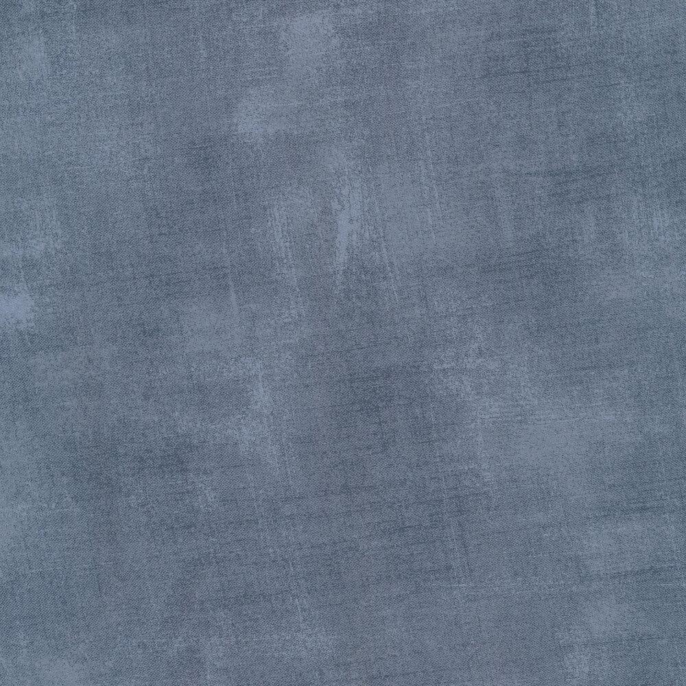 Tonal harbor blue grunge fabric