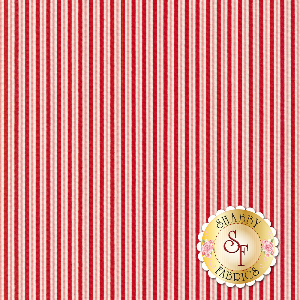 Sweet Christmas 31155-11 Candy Cane Stripe Peppermint by Urban Chiks for Moda Fabrics