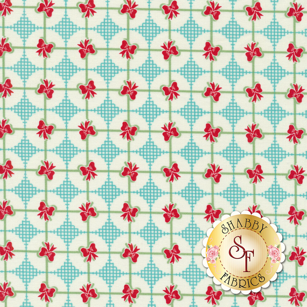 Sweet Christmas 31157-21 Presents Coolmint by Urban Chiks for Moda Fabrics