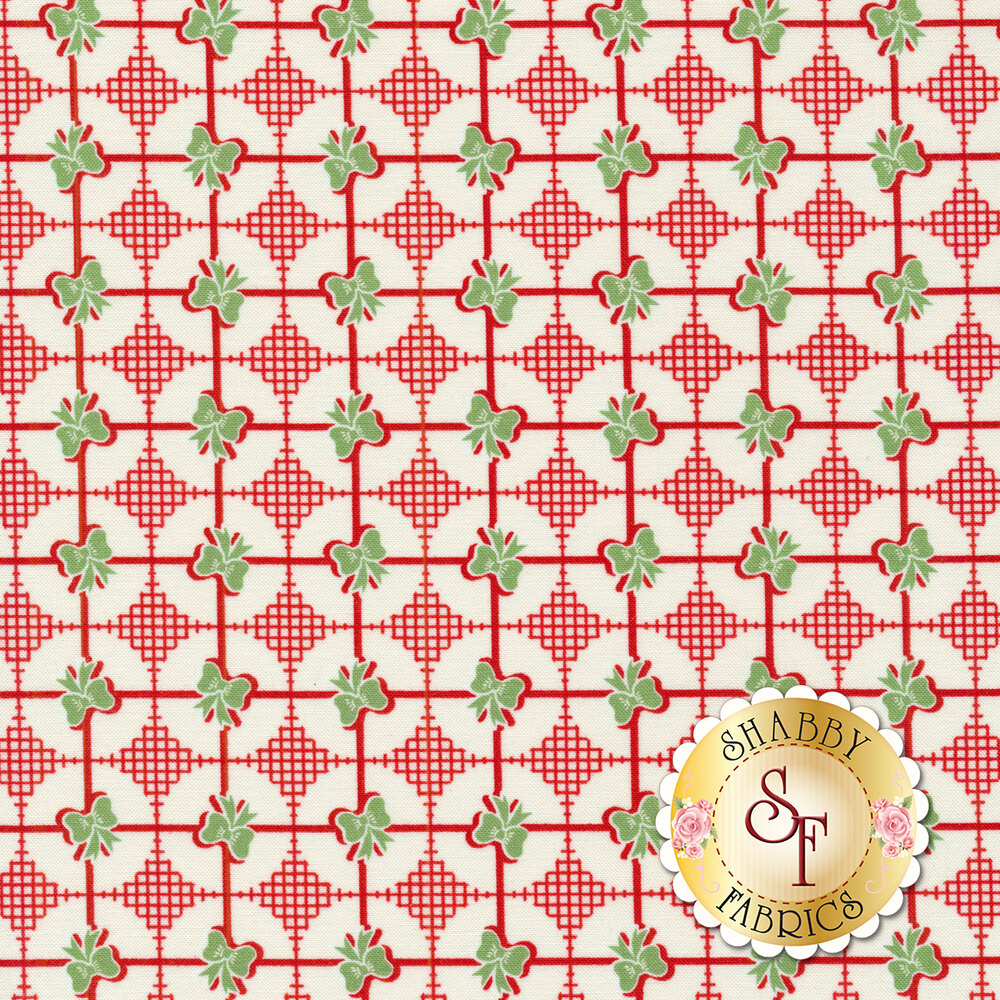Sweet Christmas 31157-22 Presents Peppermint by Urban Chiks for Moda Fabrics