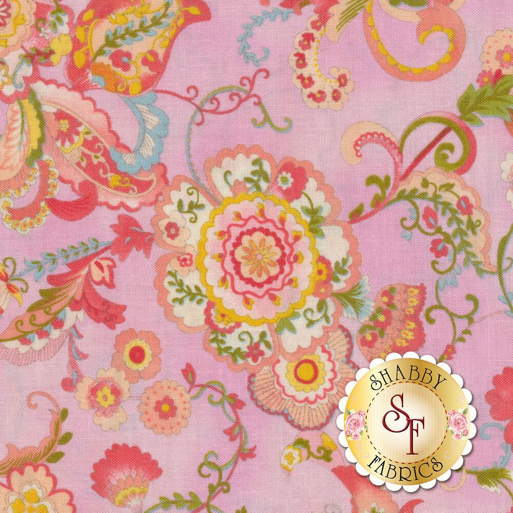 Coco 33390-16 Flourish Lavender from Moda Fabrics by Chez Moi