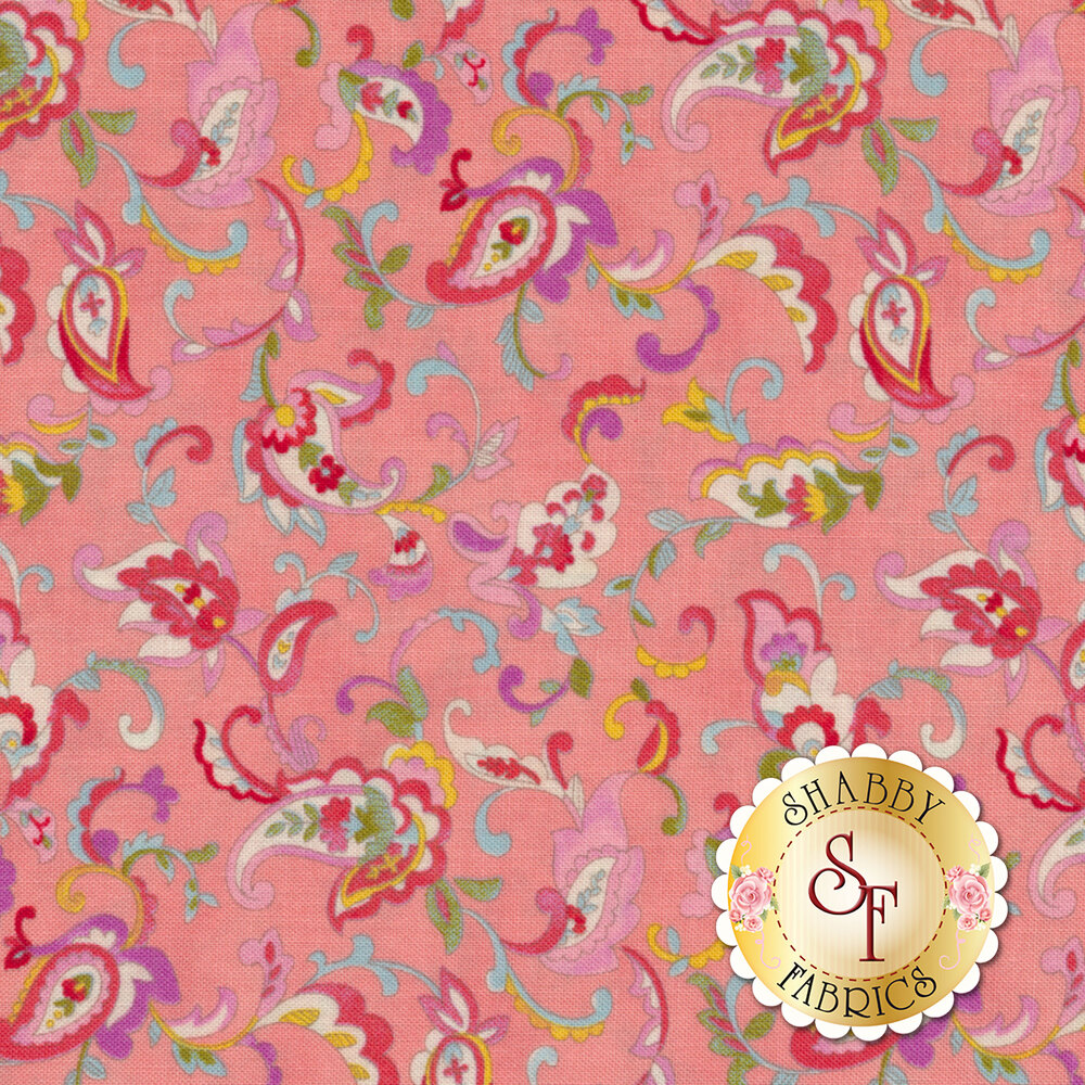 Coco 33392-14 Paisley Parfait from Moda Fabrics by Chez Moi