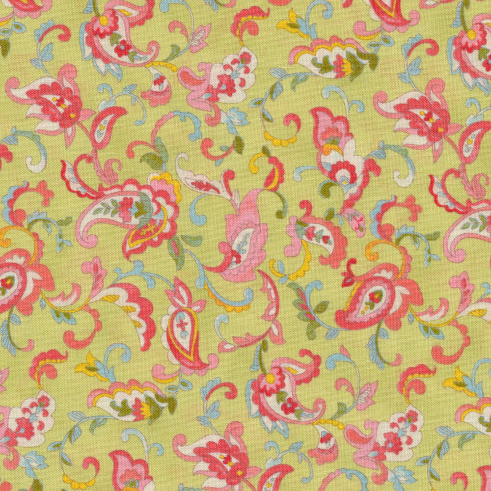 Coco 33392-16 Paisley Sprout from Moda Fabrics by Chez Moi