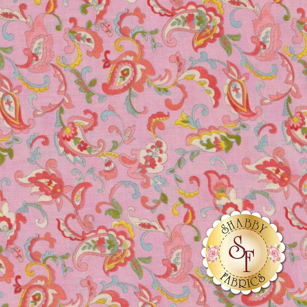 Coco 33392-17 Paisley Lavender from Moda Fabrics by Chez Moi