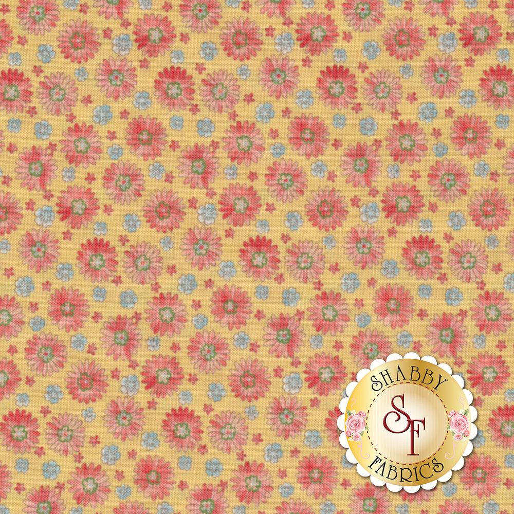 Coco 33393-11 Daisies Lemon from Moda Fabrics by Chez Moi