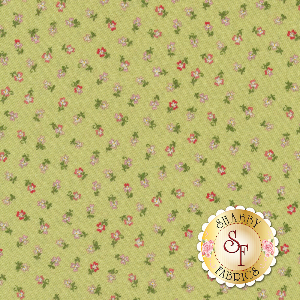 Coco 33395-16 Tiny Flower Sprout from Moda Fabrics by Chez Moi
