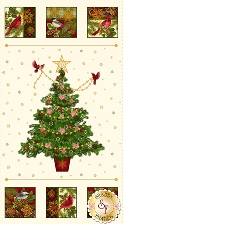 Holiday Flair 3780PM-44 Tree Panel by Art Loft for Studio E