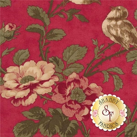 3 Sisters Favorites 3700-15 Rouge by 3 Sisters for Moda Fabrics