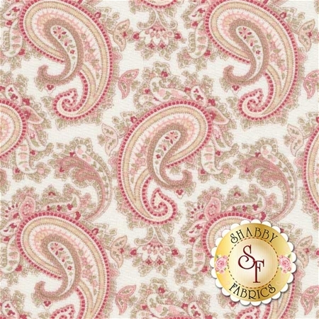 3 Sisters Favorites 3730-11 China White by 3 Sisters for Moda Fabrics