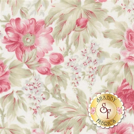 3 Sisters Favorites 3768-11 China White by 3 Sisters for Moda Fabrics
