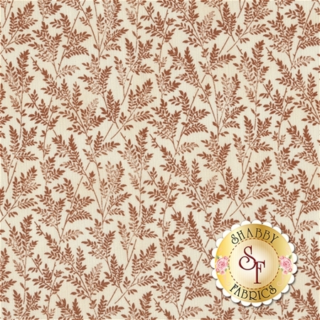 Rosewater 41911-5 Toast by Nancy Gere for Windham Fabrics