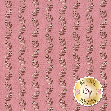 Rosewater 41912-3 Pink by Nancy Gere for Windham Fabrics