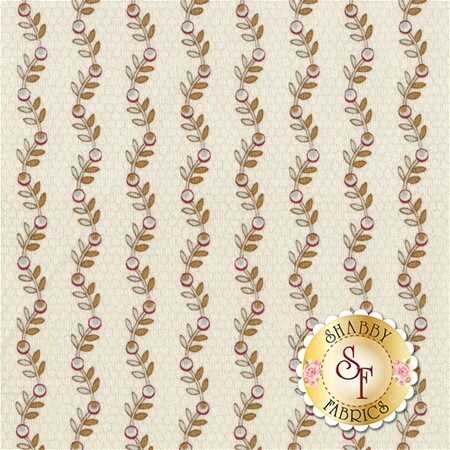 Rosewater 41912-5 Toast by Nancy Gere for Windham Fabrics