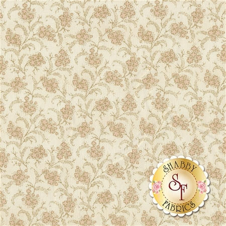 Rosewater 41916-1 Cream by Nancy Gere for Windham Fabrics