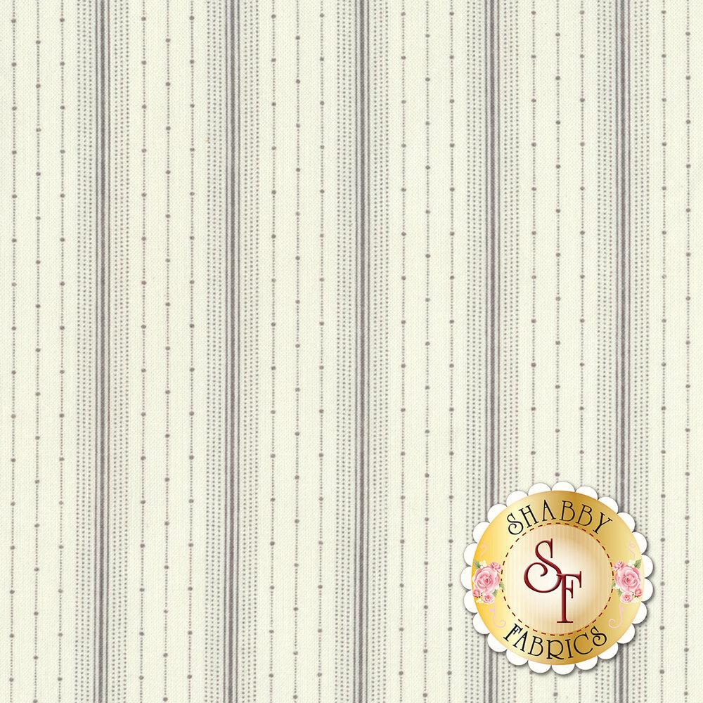 Porcelain 44198-21 Delicate Ticking Grey from Moda Fabrics